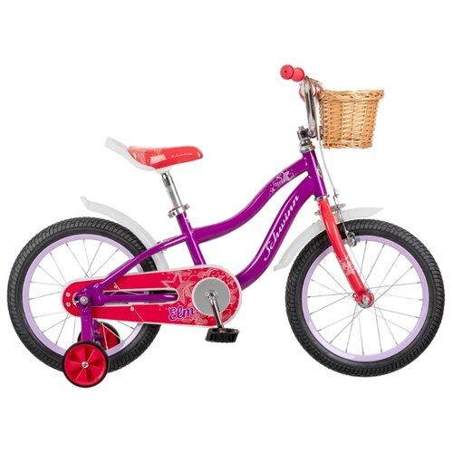 цена на Детский велосипед Schwinn Elm 16 фиолетовый (требует финальной сборки)