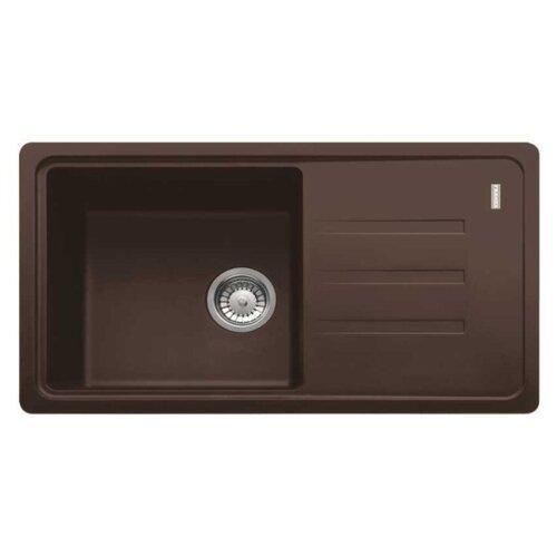 Врезная кухонная мойка 78 см FRANKE BSG 611-78 114.0391.207 шоколад врезная кухонная мойка 78 см franke pbg 611 78 114 0297 239 шоколад