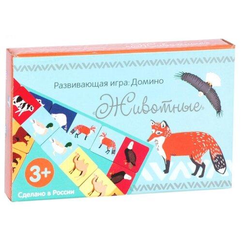 Фото - Настольная игра Мастер игрушек Домино Животные IG0105 настольная игра мастер игрушек мемори