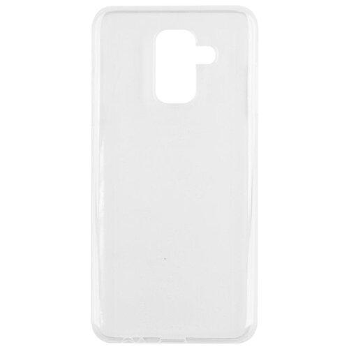 Чехол-накладка Media Gadget ESSENTIAL CLEAR COVER для Samsung Galaxy A6 Plus прозрачный чехол media gadget essential clear cover для lg x230 k7 2017 прозрачный