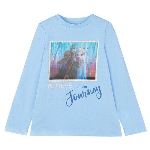 Фото - Лонгслив playToday, размер 98, голубой лонгслив playtoday размер 98 серый