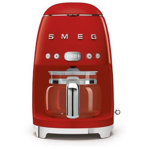 Кофеварка smeg DCF02 красный