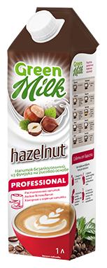 Ореховый напиток Green Milk Hazelnut Professional из фундука 1 л
