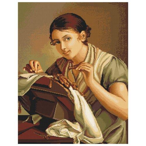 Купить Набор для вышивания Кружевница, Luca-S 26 x 33 cм G427, Наборы для вышивания