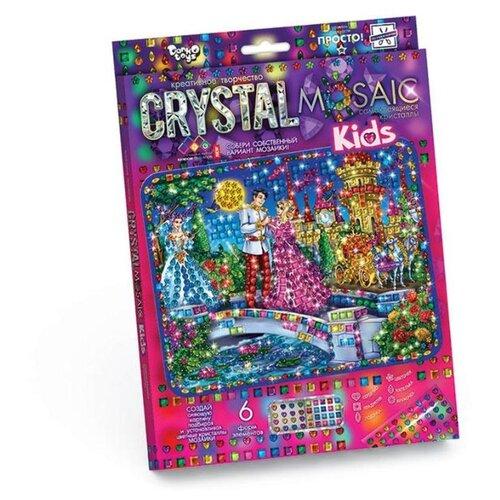 Купить Danko Toys Набор алмазной вышивки Crystal Mosaic Золушка (CRMk-01-06), Алмазная вышивка