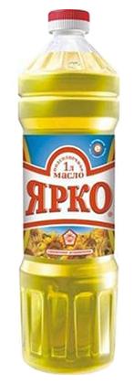 ЯРКО Масло подсолнечное рафинированное дезодорированное
