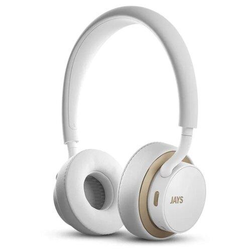 Беспроводные наушники Jays u-Jays Wireless white/gold фото