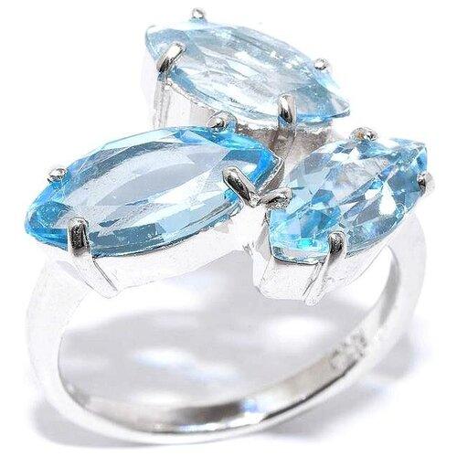 Silver WINGS Кольцо с топазами из серебра 21vsdfa00013-19-111, размер 17 silver wings кольцо с топазами из серебра 210047 32 54 размер 17