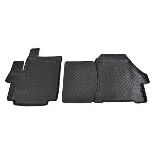 Комплект ковриков NorPlast NPL-Po-64-51 2 шт. черный