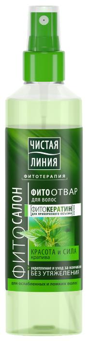 Чистая линия Спрей для волос Красота и сила, 160 мл - Характеристики - Яндекс.Маркет