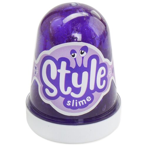 Лизун LORI Style Slime с ароматом вишни фиолетовый