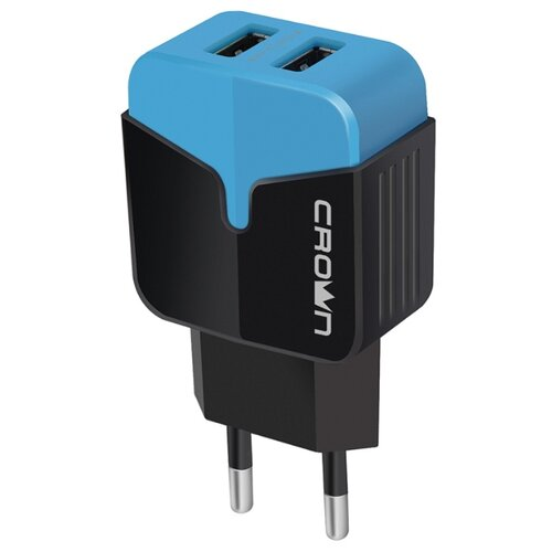 Сетевая зарядка CROWN MICRO CMWC-3042 черный сетевая зарядка rivacase rivapower va4122 micro usb черный