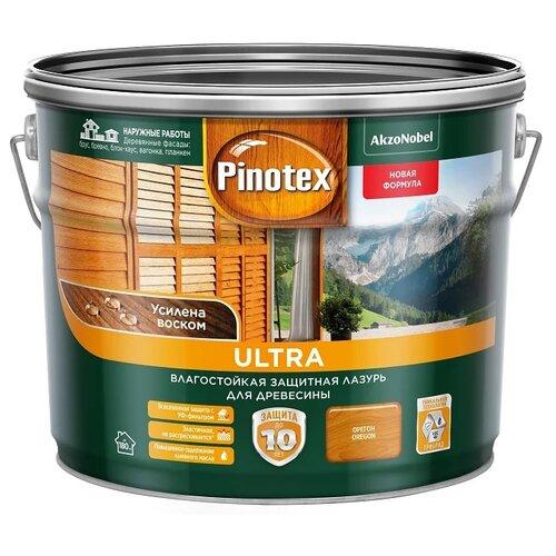 Водозащитная пропитка Pinotex Ultra орегон 9 л