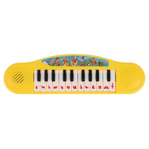 Умка пианино B1371790-R9 желтый умка микрофон a848 h05031 r9