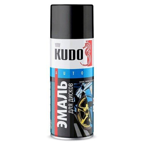KUDO аэрозольная Эмаль для дисков 520 мл болотный