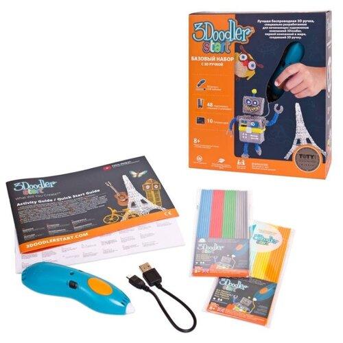 3D-ручка 3Doodler Essentials 3D Printing Pen Set синий