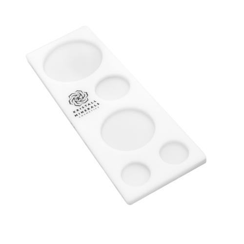 Палитра для смешивания Kristall Minerals 22 x 8 см белый