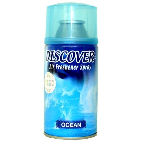 Discover сменный баллон Ocean, 320 мл 1 шт. discover сменный баллон lilac 320 мл 1 шт