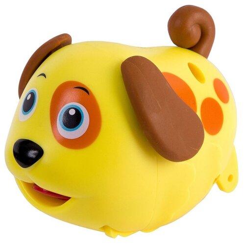 развивающая игрушка bondibon автомобиль корабль разноцветный Развивающая игрушка BONDIBON Baby You Собачка с будкой желтый/коричневый