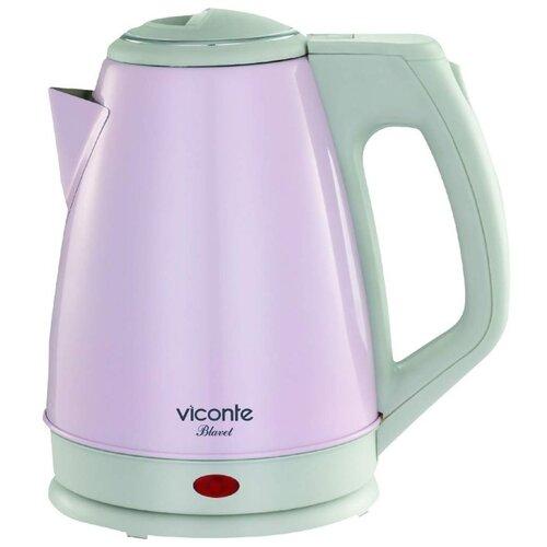 Чайник Viconte VC-3282, розовый чайник viconte vc 3275
