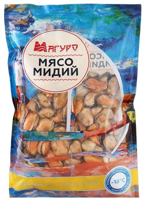 МАГУРО Мясо мидий варено-мороженое 500 г