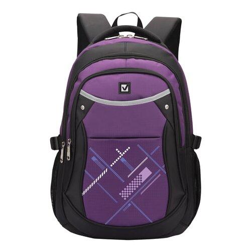 Купить BRAUBERG Рюкзак Мамба (225525), фиолетовый, Рюкзаки, ранцы