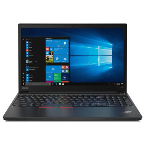 Купить Ноутбук Lenovo ThinkPad E15 (Intel Core i7 10510U 1800MHz/15.6 /1920x1080/8GB/512GB SSD/DVD нет/Intel UHD Graphics/Wi-Fi/Bluetooth/Windows 10 Pro) 20RD0019RT черный
