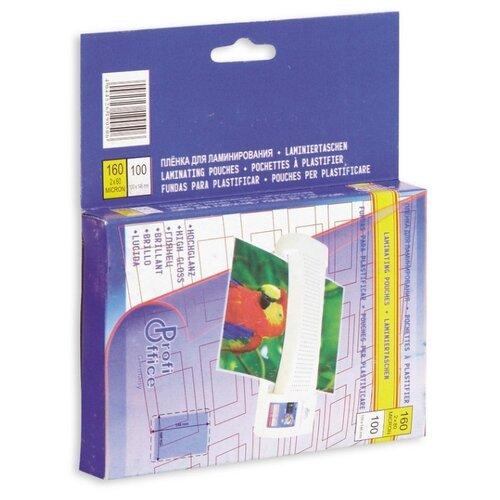 Фото - Пленка для ламинирования ProfiOffice 100х146, 80мкм 100 штук в упаковке profioffice cutstream hq 361
