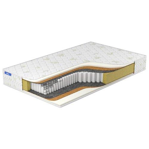 Матрас Miella Memory-Hard DS 80x200, пружинный, белый