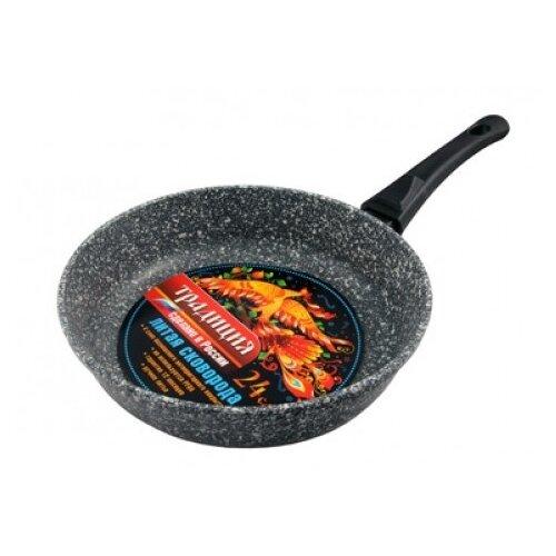 Сковорода-гриль Традиция ТМ7265 Мрамор съемная ручка декор 20 30 традиция ad a178 8234 32