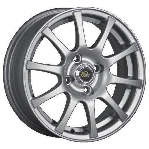 Фото - Колесный диск Cross Street Y3176 6x15/4x100 D54.1 ET46 Silver колесный диск cross street y3176 6x15 4x100 d60 1 et49 silver