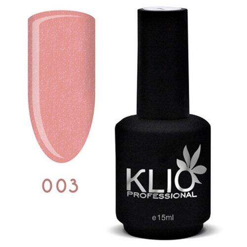 KLIO Professional базовое покрытие Glitter Base 15 мл 003