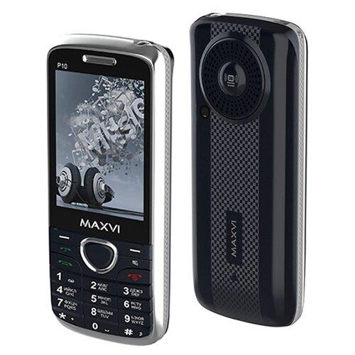 Телефон MAXVI P10 темно-синий телефон
