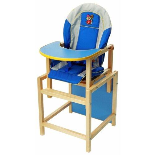 Купить Стульчик-парта ВИЛТ Кузя, синий, Стульчики для кормления