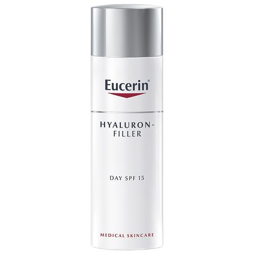 Крем Eucerin Hyaluron-Filler SPF15 для дневного ухода за нормальной и комбинированной кожей для лица,шеи и зоны декольте 50 мл