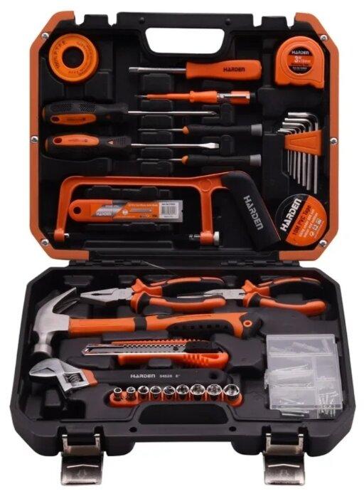 Набор инструментов и оснастки Harden (39 шт.) 511039 оранжевый