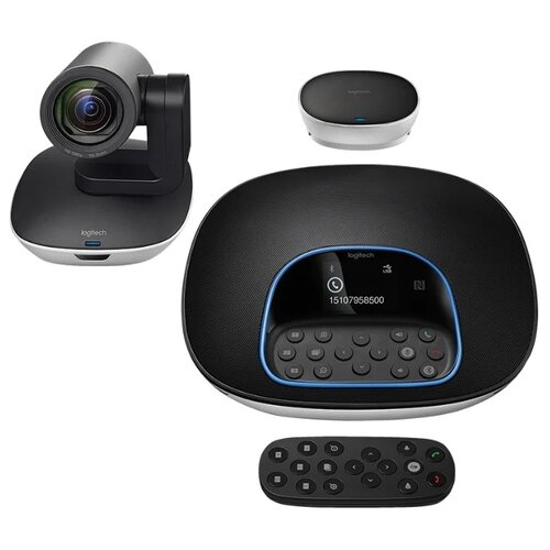 Система для видеоконференций Logitech GROUP черный