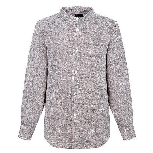 Купить Рубашка Il Gufo размер 140, коричневый, Рубашки