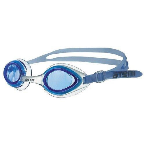 Фото - Очки для плавания ATEMI N7601/N7603 синий очки маска для плавания atemi z401 z402 синий серый