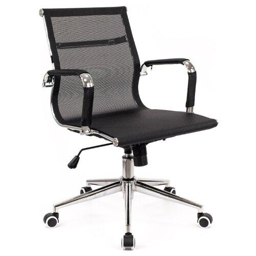 Компьютерное кресло Everprof Opera LB T офисное, обивка: текстиль, цвет: черный