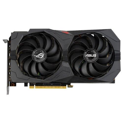 Видеокарта ASUS ROG GeForce GTX 1660 SUPER 1530MHz PCI-E 3.0 6144MB 14002MHz 192 bit 2xHDMI 2xDisplayPort HDCP Strix Gaming OC Retail цена 2017