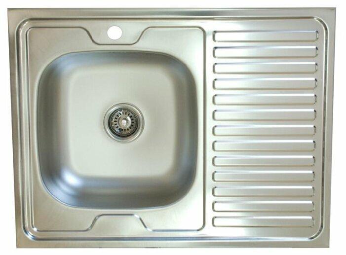 Мойка кухонная Владикс 600х800 мм правая 401