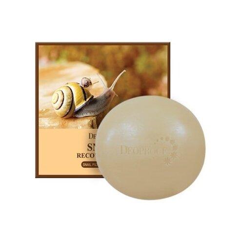 Купить Deoproce мыло с улиточным муцином Snail Recovery Soap, 100 г