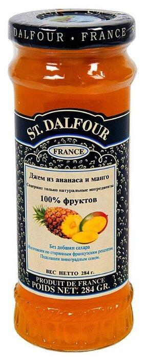 Джем St. Dalfour из ананаса и манго