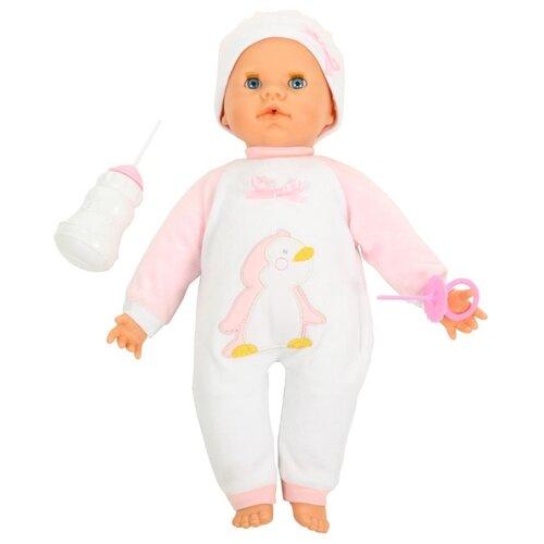 Фото - Интерактивный пупс Полесье Озорной, 40 см, 71750 интерактивный пупс joy toy маленькая ляля 058 19r