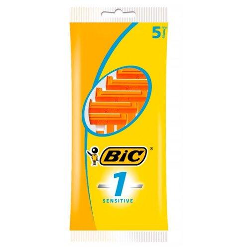 Бритвенный станок Bic 1 Sensitive, 5 шт. смазка chepark bic 100s 150ml