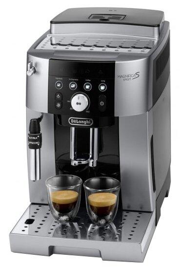 Кофемашина De'Longhi Magnifica smart ECAM 250.23 S, серебристый/черный фото 1