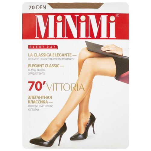 Колготки MiNiMi Vittoria 70 den, размер 5-XL, caramello (бежевый) колготки minimi avanti 40 den размер 5 xl caramello бежевый