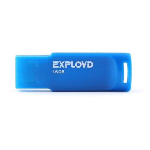Фото - Флешка EXPLOYD 560 16GB blue флешка exployd 560 16gb red