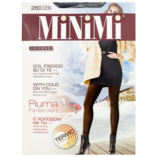 Леггинсы MiNiMi Pantacollant Piuma 260 den, размер 3-M, nero (черный)